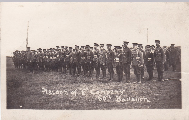 Platoon of E Coy 60th Btn